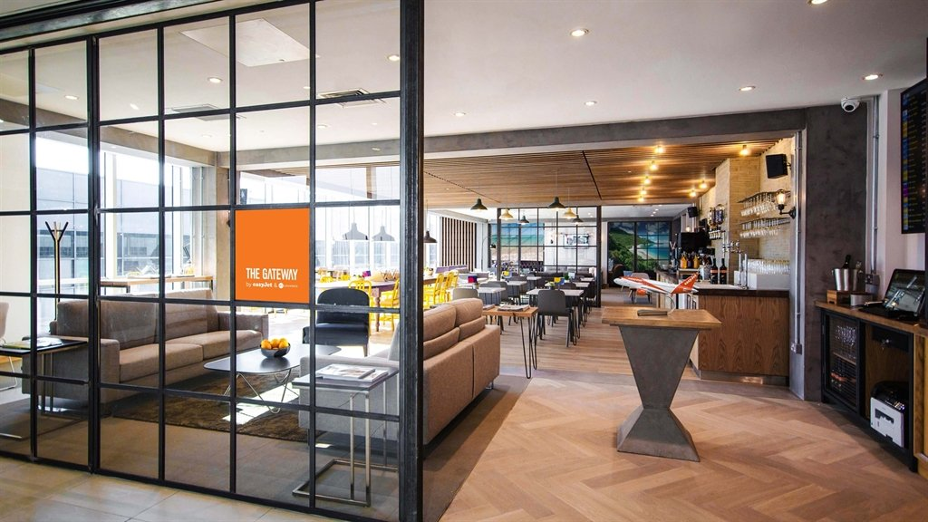 EasyJet Opening Lounge At London Gatwick Airport