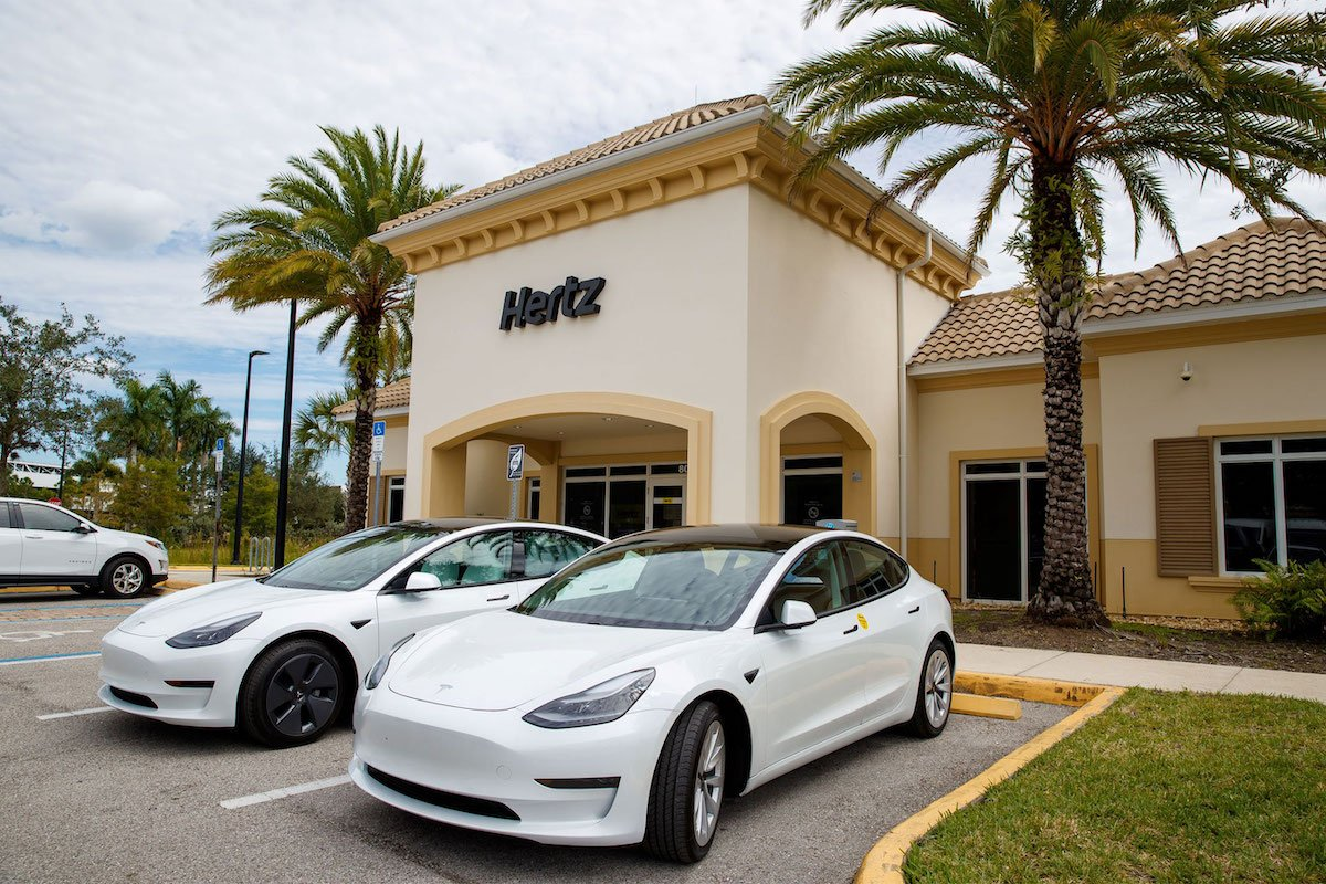 Wow: Hertz Will Add 100K Teslas To Rental Fleet