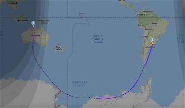 Qantas Operates 9,100+ Mile Flight Over Antarctica