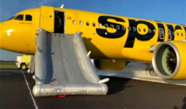Spirit Airlines A320neo Has Engine Fire, Evacuates